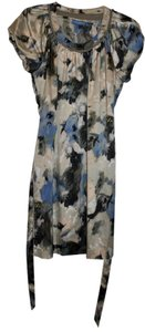 Vera Wang short dress Floral, Multi Floral on Tradesy