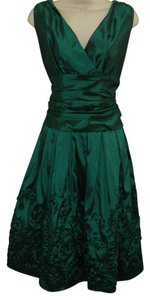 S.L. Fashions Cocktail Taffeta Formal Prom Dress