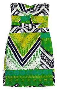 Trina Turk short dress Multi Color Print Cotton on Tradesy