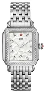 Michele NEW Michele Deco Arc Mosaic Diamond Dial MWW06T000075 Ladies Watch