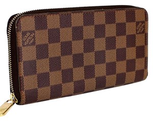 Louis Vuitton Zippy Wallet Damier Ebene