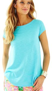 Lilly Pulitzer T Shirt Pool House Blue