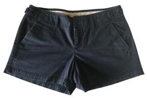 Gap Chino Broken-in Distressed Shorts Faded Navy
