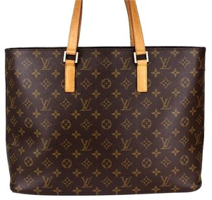 Louis Vuitton Luco Neverfull Tote in monogram canvas