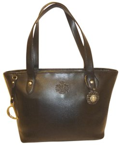 Ralph Lauren Refurbished Leather Tote in Black