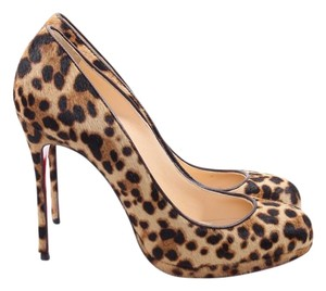 Christian Louboutin animal print Pumps