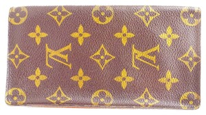 Louis Vuitton Checkbook Wallet Monogram