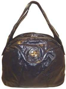Marc Jacobs Refurbished Patent Leather Multi Pocket Lined Hobo Bag