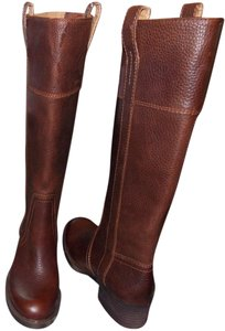 Lucky Brand Leather Pullover brown Boots
