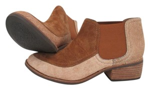 Matisse Cowhair Suede Mexico Stacked Heel Western Tan Boots
