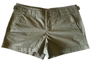 Gap Chino Broken-in Distressed Shorts Faded Olive Green