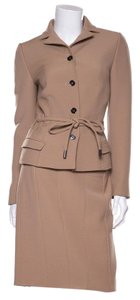 Dolce&Gabbana Dolce & Gabbana Tan Two Piece Suit