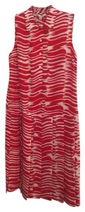 CAbi short dress red/ white on Tradesy