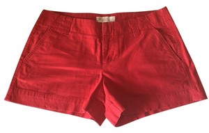 Gap Chino Shorts Red