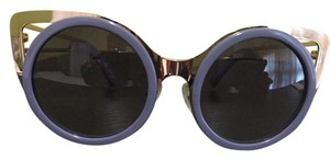 Linda Farrow Luxe Two Toned Sunglasses With Gradient Lenses