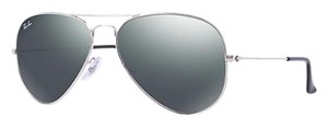 Ray-Ban Ray-Ban RB3025 W3277 58-14 Silver Aviator Mirror Unisex Sunglasses