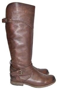 Frye Ridiing Dark Brown Boots