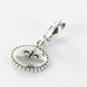 PANDORA Pandora Usb791169-g120 Bead Charm Nfl Orleans Saints Dangle 925
