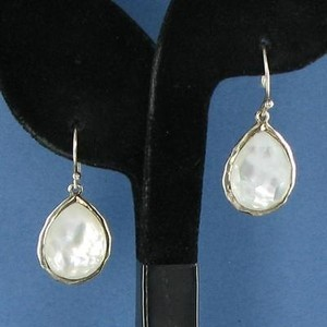 Ippolita Ippolita Wonderland Earrings Clear Quartz Mop Drops Sterling Silver