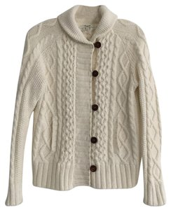 Madewell Cableknit Toggle Cardigan