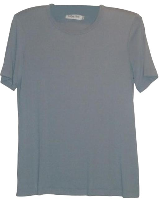 Preload https://item3.tradesy.com/images/calvin-klein-very-soft-fabric-teal-sweater-19127-0-1.jpg?width=400&height=650