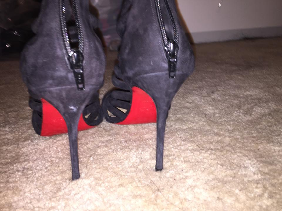 Strappy Christian Louboutin Black Pumps Heels AqxxEZaW