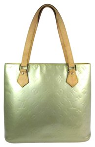 Louis Vuitton Leather Vernis Gold Tote Lv Shoulder Bag
