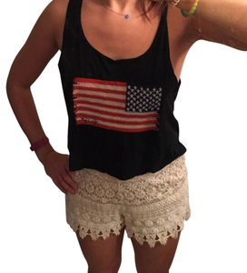 Brandy Melville Top black, white, red, blue