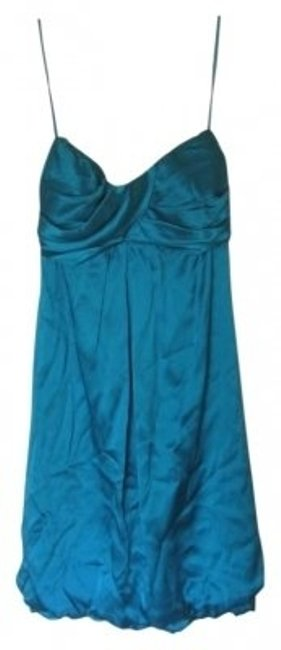 Preload https://item4.tradesy.com/images/cache-teal-satin-strapless-mini-cocktail-dress-size-2-xs-19128-0-0.jpg?width=400&height=650