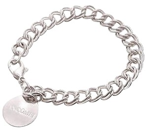 Tiffany & Co. Tiffany Co. Sterling Silver Lancome Round Tag Bracelet