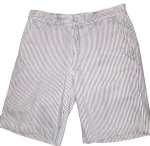 Ralph Lauren Bermuda Shorts White and blue