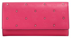 MCM MCM Claudia Studded Flap Continental Wallet