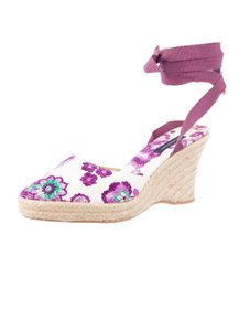Burberry Floral Lilac Purple Flats