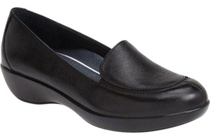 Dansko Debra Slip On Loafers Black Flats