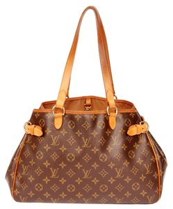 Louis Vuitton Leather M51154 Tote in Brown Monogram