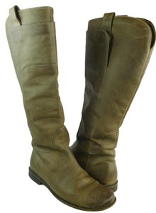 Frye Leather Mid-calf Brown Boots