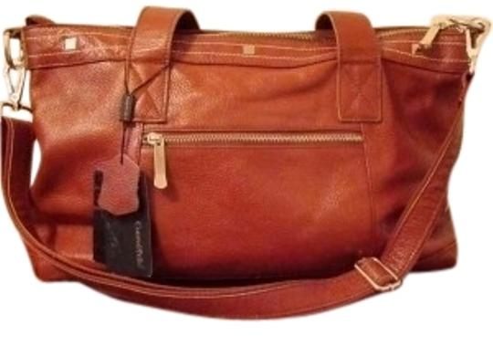 Preload https://item1.tradesy.com/images/cuore-and-pelle-brown-leather-satchel-19130-0-1.jpg?width=440&height=440