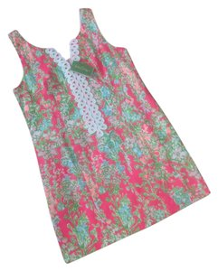 Lilly Pulitzer short dress FLAMINGO PINK SOUTHERN CHARM on Tradesy