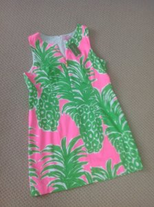 Lilly Pulitzer short dress PINK POUT FLAMENCO on Tradesy