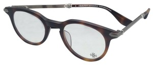 Chrome Hearts CHROME HEARTS Eyeglasses KOKHEE MBST Butterscotch Tortoise & Silver