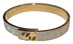 Michael Kors NWT Michael Kors Gold with Pave Crystal Bangle Bracelet