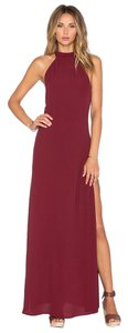 Burgundy Maxi Dress by Flynn Skye