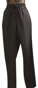 Coldwater Creek Relaxed Pants black and white