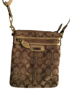 Coach Caoch Gold Fall Cross Body Bag