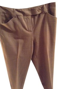 Talbots Size 2 Lined Trouser Pants Light brown