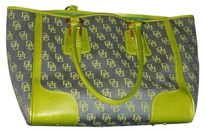 Dooney & Bourke Tote in Blue and Green