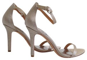 Badgley Mischka Passion Silver Sandals