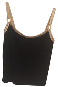 St. John Top Black,gold