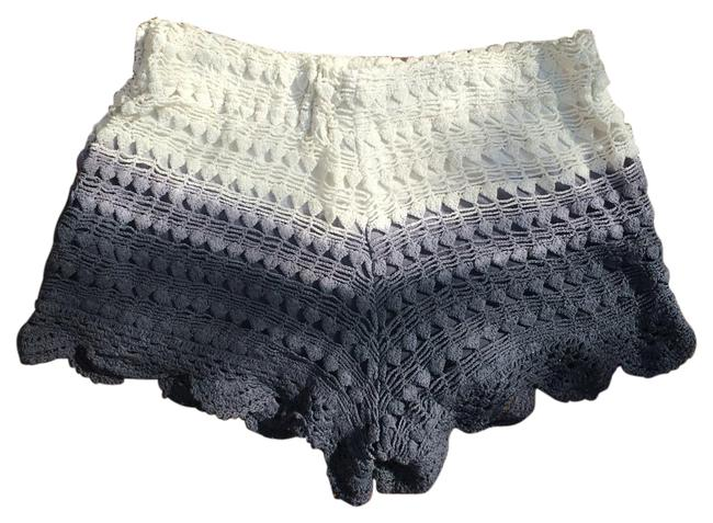 Item - Gray Cream Ombre Crochet Shorts Size 8 (M, 29, 30)