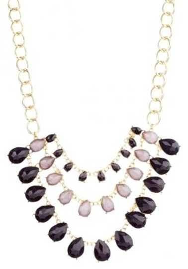 Monique Leshman Monique Leshman Black Trinity Drop Necklace